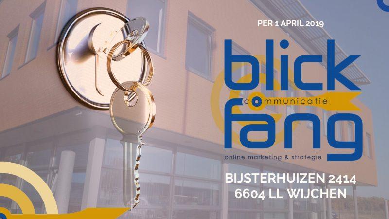 Blickfång Communicatie verhuisd naar Bijsterhuizen