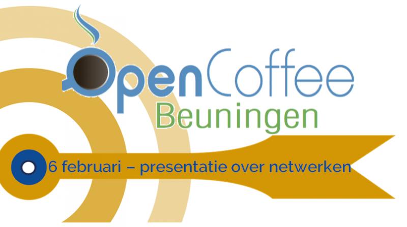 Presentatie bij Open Coffee Beuningen